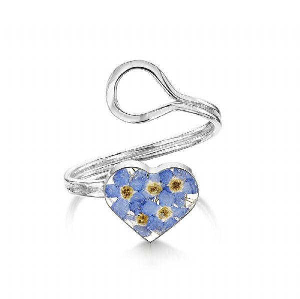 Silver Forget me Not Ring